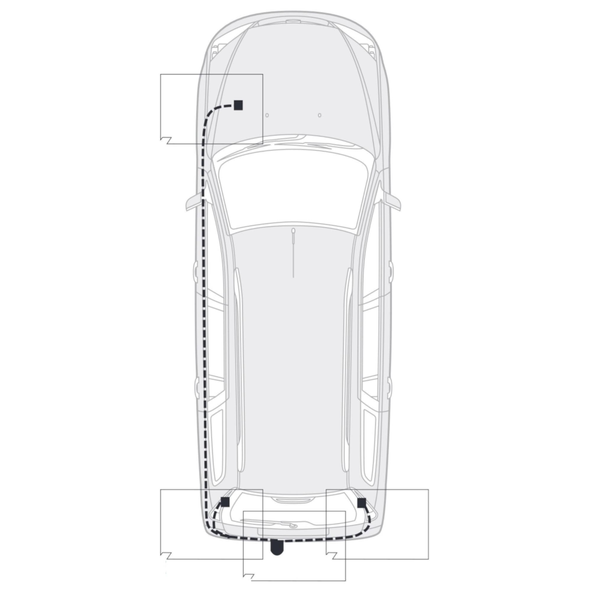 AutoHak Anhängerkupplung starr für Nissan Tiida 08-11 mit 7pol Elektrosatz NEU 3