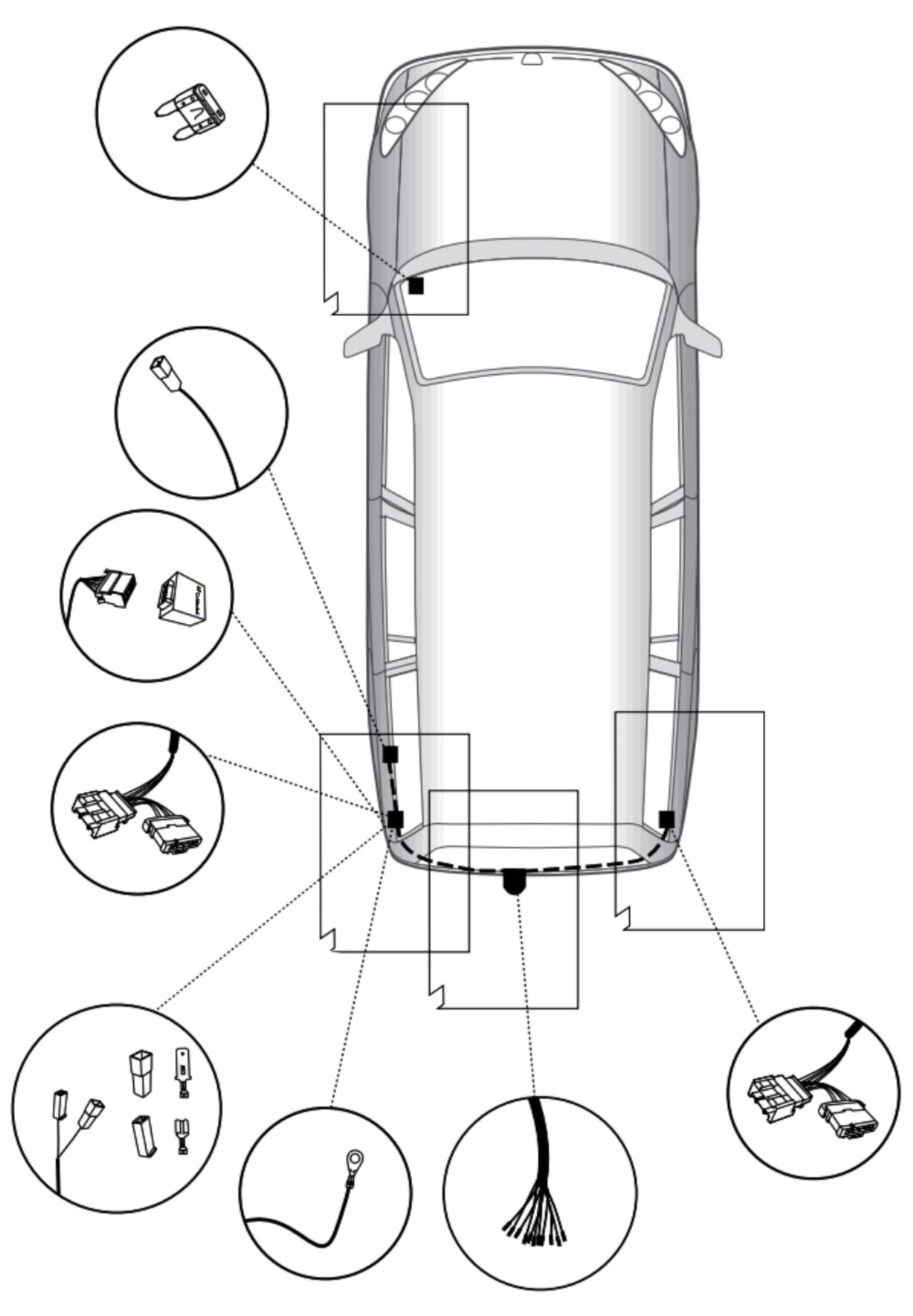 Hook Anhängerkupplung für Dacia Sandero Fliessheck ab 16 starr 7pol spezifisch